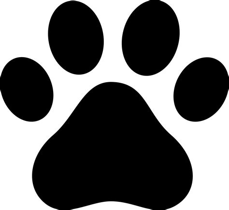 puppy paw paw prints clip new calendar template site
