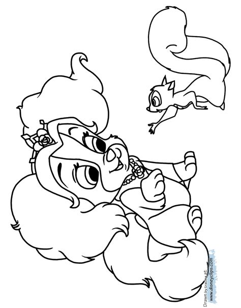 teacup puppies coloring pages palace pets coloring pages 3 disney coloring book