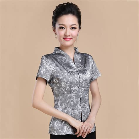 Baju Atasan Blouse Alea Blouse popular silk satin blouses buy cheap silk satin blouses lots from china silk satin blouses