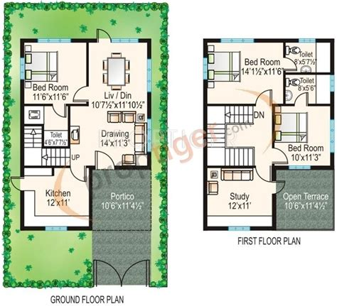 emerald park floor plan 1490 sq ft 3 bhk 3t villa for sale in modi emerald park