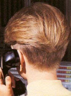 80s style wedge hairstyles 80s wedge haircut back hairstyles vintage