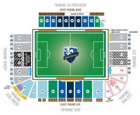 plan des stades montreal impact