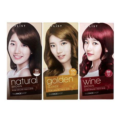 The Faceshop Hair Band the shop stylist silky hair color korean hair skincare malaysia