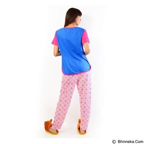 Setelana Baju Tunik Celana Panjang Wanita Fit Jumbo Desta Set jual forever baju setelan wanita fit celana panjang p 718 blue merchant murah