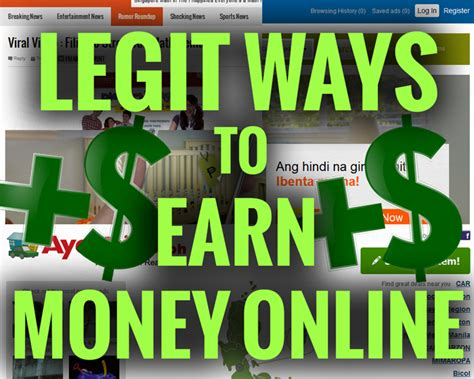 How To Make Fast Money Online Legally - ways to make money legit ways to make money teens