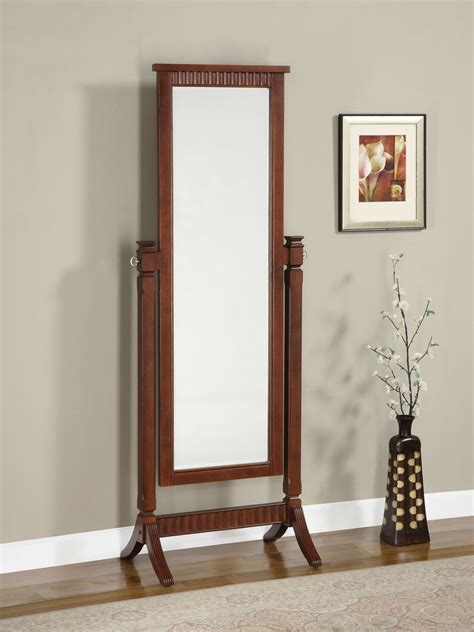 furniture charming cheval mirror jewelry armoire ideas