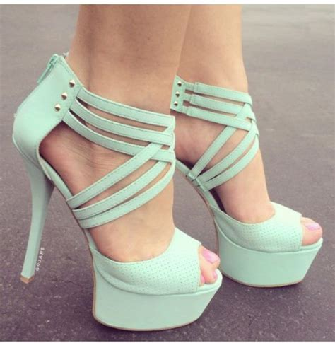 shoes bright prom shoes mint green shoes high