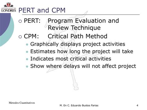 pert cpm ppt ppt project scheduling pert cpm powerpoint presentation