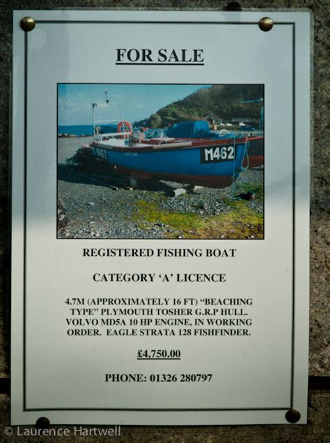 fishing boat for sale with licence through the gaps newlyn fishing news boats 4 sale