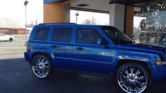 24 quot 411 rims on a jeep patriot rimtyme of hton