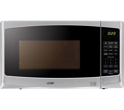 Microwave Grill buy logik l20gs14 microwave with grill silver free