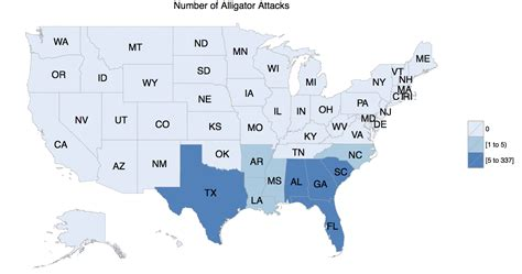 alligators in map fauna the science of the south