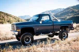 1984 chevy truck k10 4wd 350 v8 bed shop truck