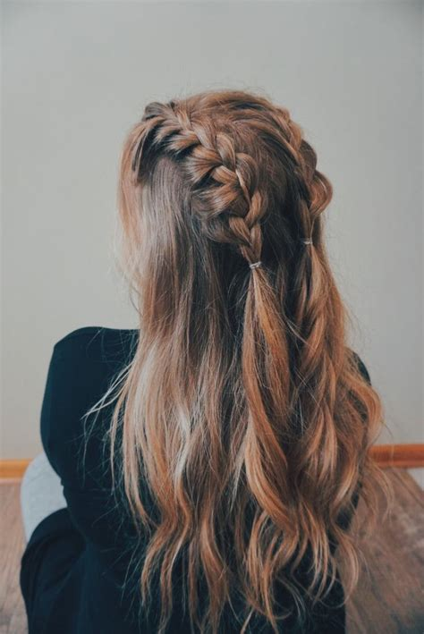 pin  hannah paige  hairstyles cute ponytail
