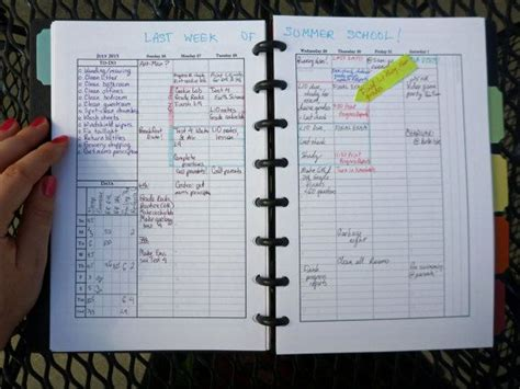 day planner books printable self management planner day planner