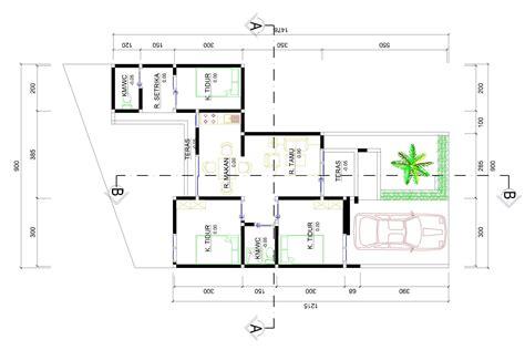 denah layout furniture gambar rumah minimalis sederhana type 36 bliblinews com