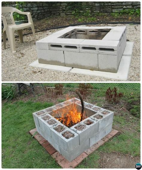 diy pit cheap and easy 10 diy cinder block garden ideas and projects cinder block garden garden projects and gardens