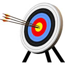 Medieval archery targets aerial targets paper arrow targets and
