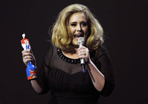 biography adele singer brit awards 2012 adele sweeps two brits adds to