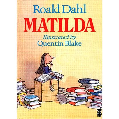 a for all time matilda book best roald dahl books childrens books