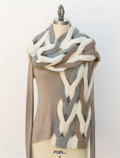 japanese pattern scarf japanese weave wrap pam powers knits