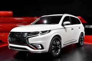 Mitsubishi S 2014 Motor Show Mitsubishi Outlander Phev Concept S