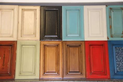 Kitchen Cabinet Door Paint Colored Kitchen Cabinet Doors Quicua
