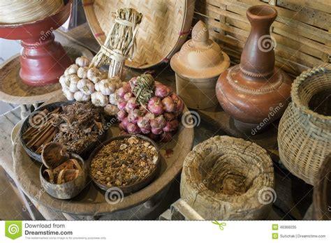 traditional kitchen thai style stock image image 46366035