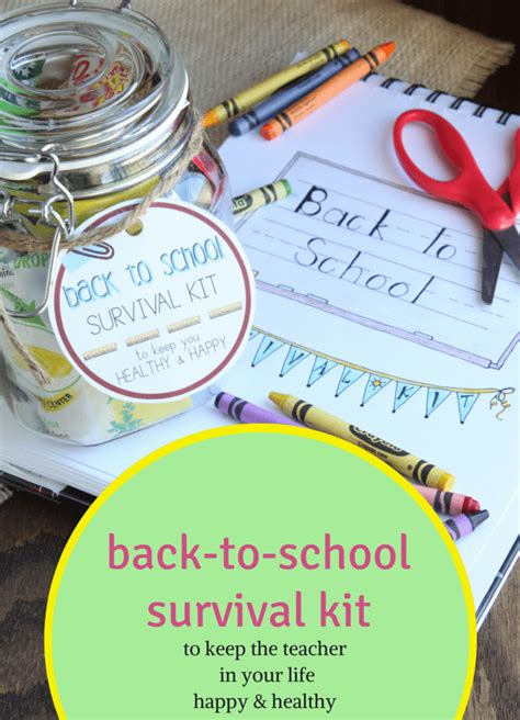 Taking The Kiddos To School by Back To School Survival Kit Keep The In Your