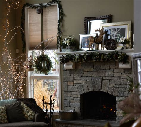 holiday decor traditional living room new york by