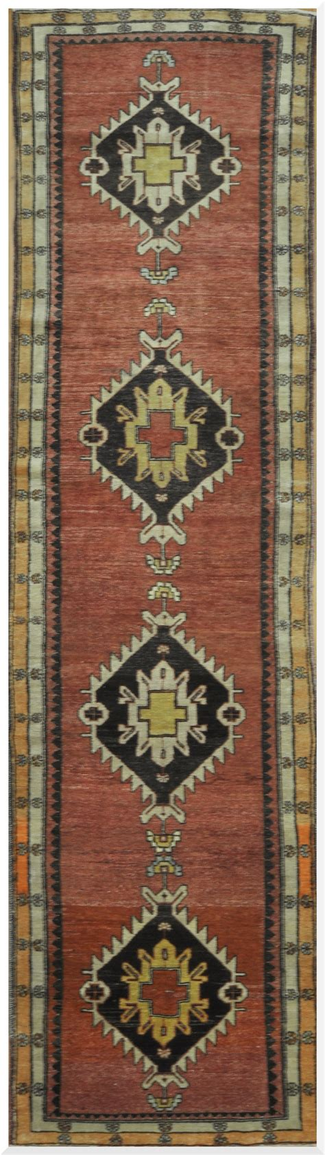 Handmade Rugs From Turkey - vintage handmade turkish runner rug surena rugs
