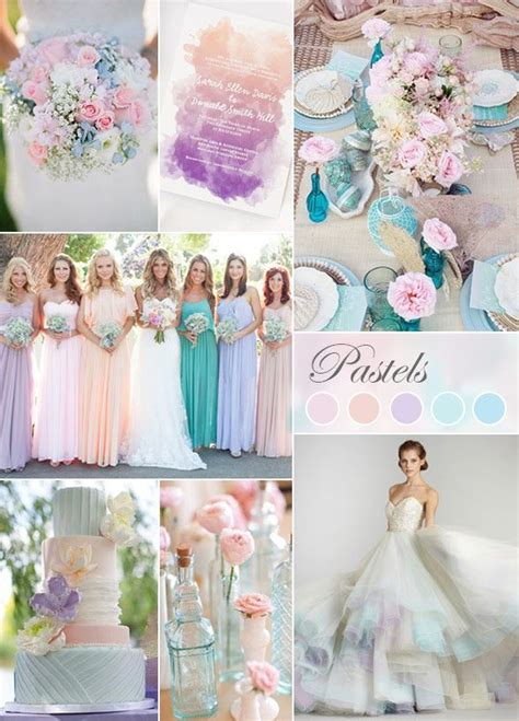25 best ideas about pastel wedding colors on pinterest