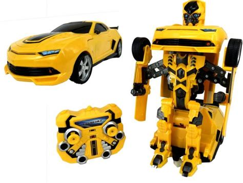 Mobil Bumble Bee Transformer Remote transformers remote bumblebee car color yellow toys price review and buy in dubai abu