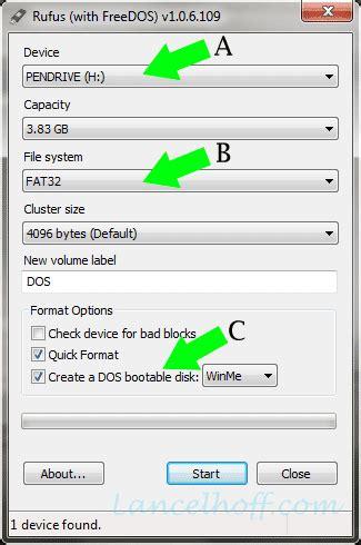 membuat usb bootable dos trama kreatif membuat bootable usb drive dengan rufus