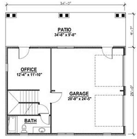 garage office plans details about 2 car garage plans w office loft