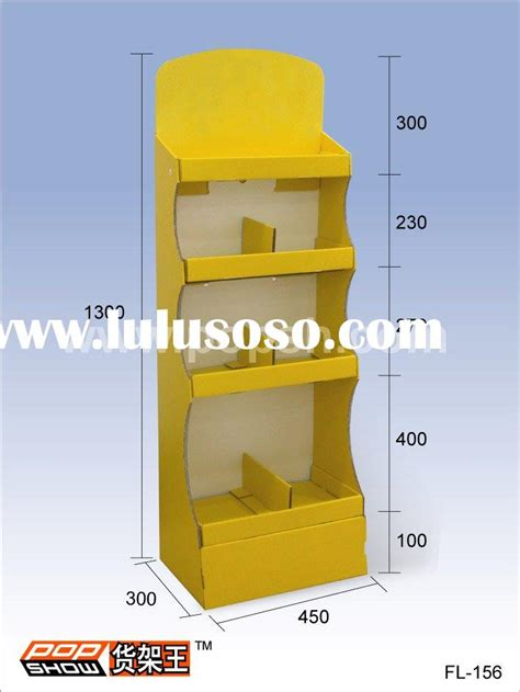pop display templates cardboard counter display pop point of purchase display
