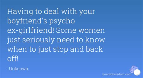 what to say to your boyfriend on s day to deal with your boyfriend s psycho ex