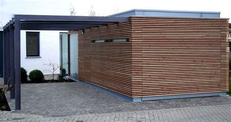 Holz Zum Verkleiden 2295 by Carport Architektenstudio Melzer Exterior