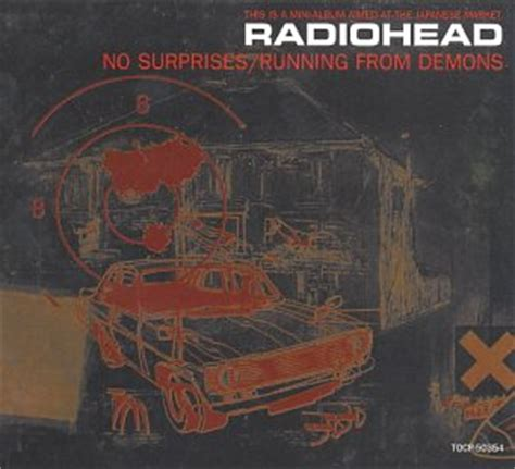 Cd Radiohead Lag Import no surprises running from demons co uk