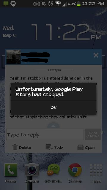 Play Store Crashing Play Store Keeps Crashing In Background Android