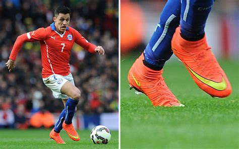 alexis sanchez cleats chile sign 56m deal with nike soccer365