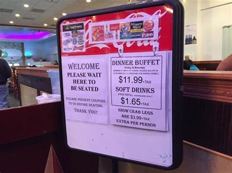 Pricing Picture Of Ichiban Buffet Kissimmee Tripadvisor Ichiban Buffet Menu