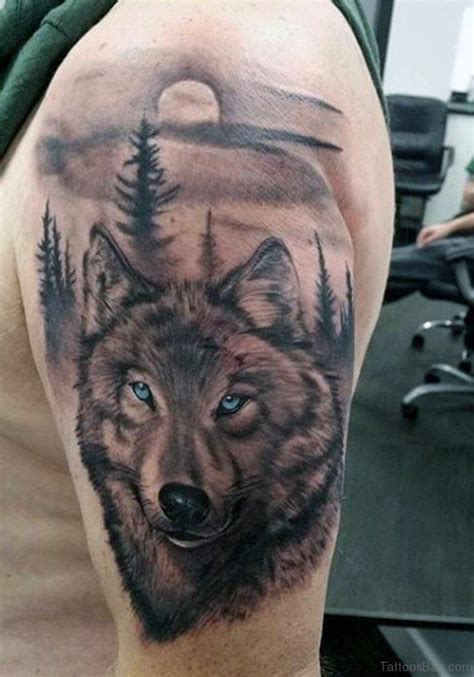 tattoos for men on the 85 best wolf tattoos for improb