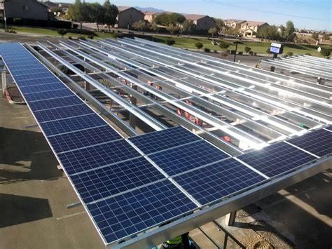 rodgers ranch elem school laveen az solar carport