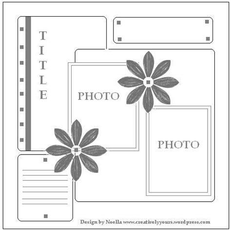 Scrapbook Layout Exles | scrapbook layout exles scrapbooking pinterest