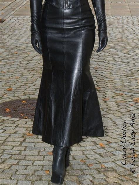 luxury leather skirt leather skirt black custom size ebay
