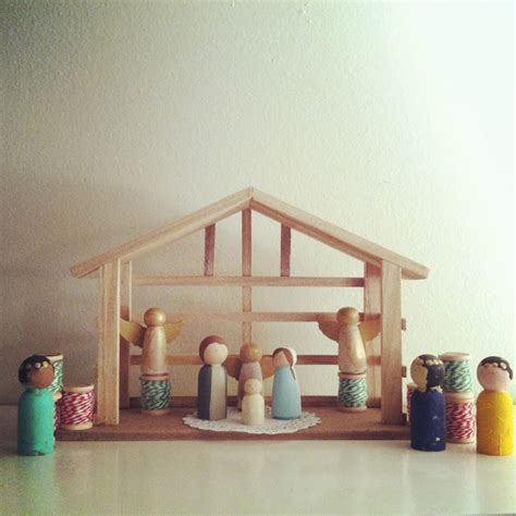 Handmade Nativity - freshly completed 20 of the most handmade