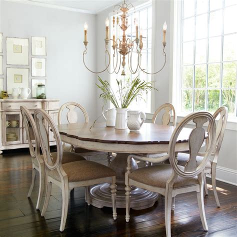 shabby chic dining rooms quot tabitha quot dining furniture shabby chic style dining room by horchow