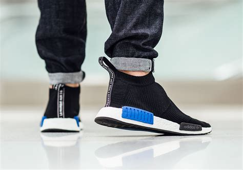 Adidas Nmd City Sock Black Blue Sock Style Shoes Adidas Nmd City Sock Black Blue Sneaker Bar Detroit