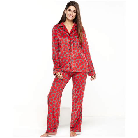 Pajama Wish dkny wish list microfleece top and pajama set in lyst